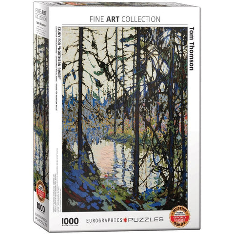 Study for Northern River 1000 Pc Puzzle
