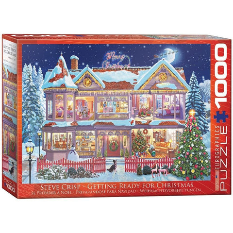 628136609739 Getting Ready for Christmas prepack item Eurographics - Calendar Club1