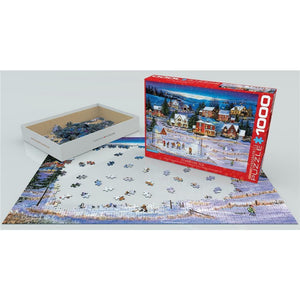 Stars on the Ice Hockey Puzzle 1000 Piece