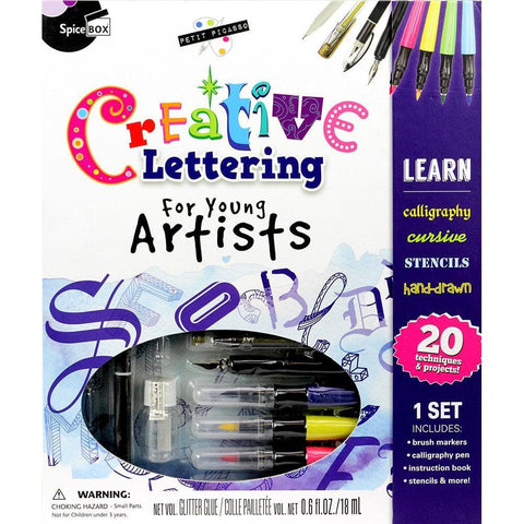 628992009865 Creative Lettering SpiceBox - Calendar Club1