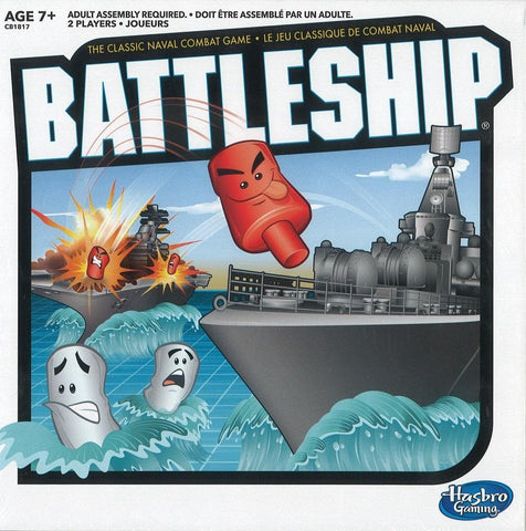 Battleship Family Strategy Game