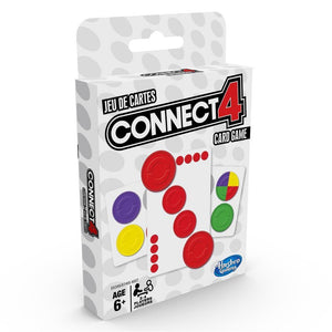 Connect 4 Card Game Interior Product Image