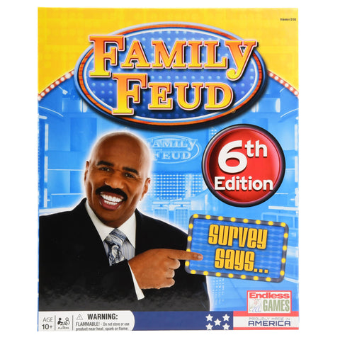 Family Feud Classic Deluxe 6th Edition