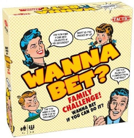Wanna Bet - Calendar Club of Canada - 1