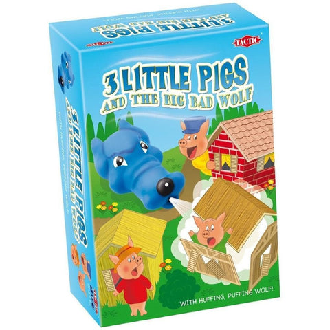 6416739538495 3 Little Pigs Tactic Games - Calendar Club1