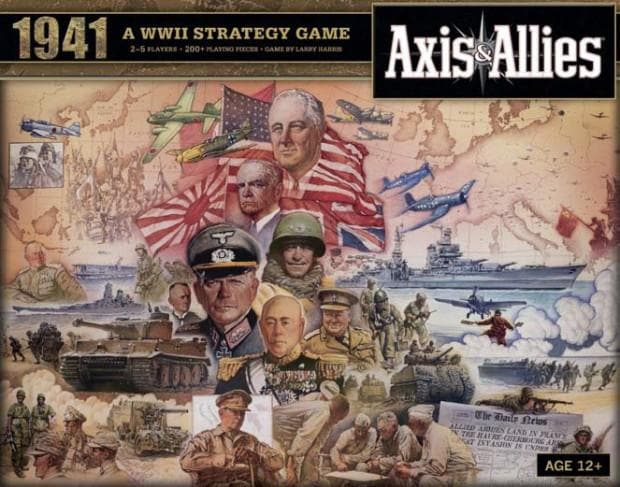 653569705345 axis and allies 1941 wizards of the coast calendar