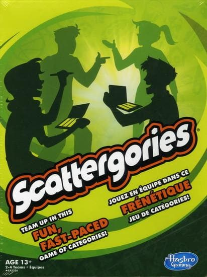 Scattergories - Calendar Club of Canada