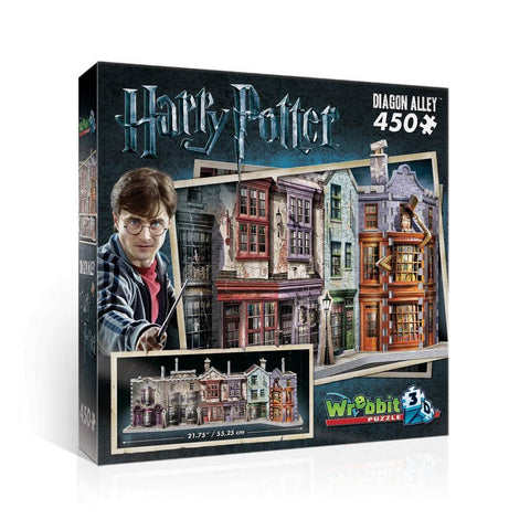 Diagon Alley Harry Potter 450 Pc Puzzle