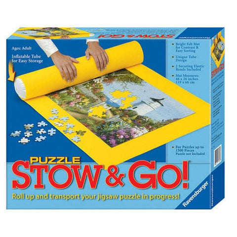 Stow and Go Puzzle Storage Solution
