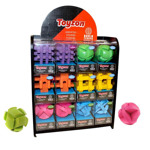 Brain Teaser 3D Assorted - Each Sold Separately Front Product Image