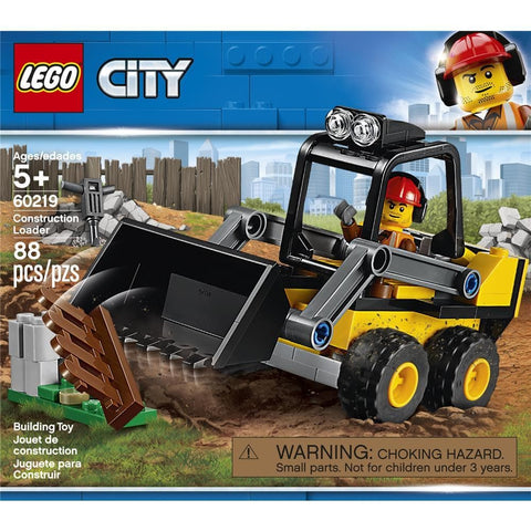 City Construction Loader Front Product Image