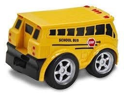 Pull Back School Bus - Calendar Club of Canada