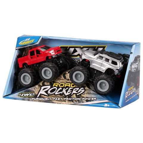4X4 Friction Power Monster Truck 2PK