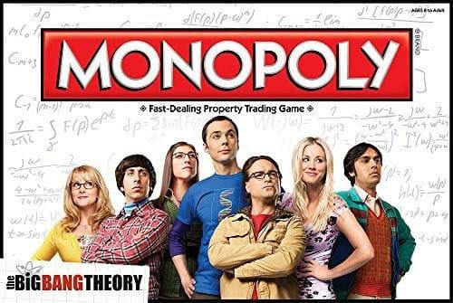 Big Bang Theory Monopoly - Calendar Club of Canada
