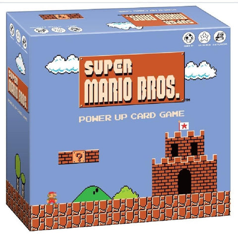 700304049056 Super Mario Bros Power Up Card Game USAopoly - Calendar Club1