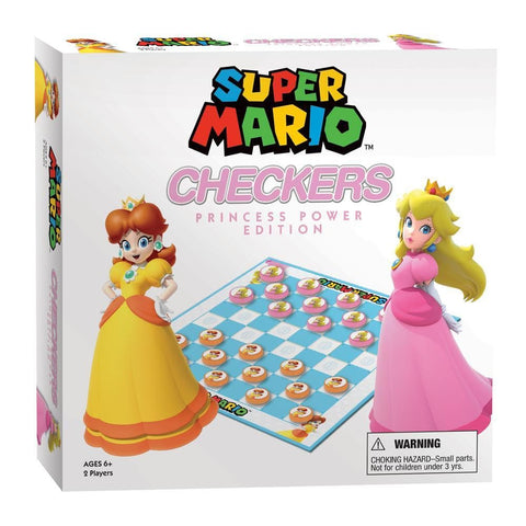 Super Mario Checkers Princess Power Edition