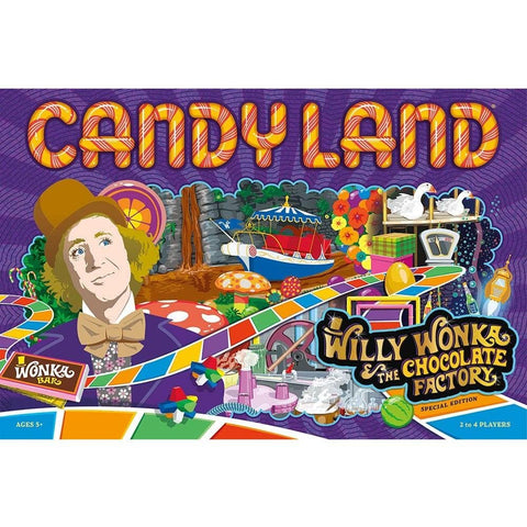 Candyland Willy Wonka and The Chocolate Factory