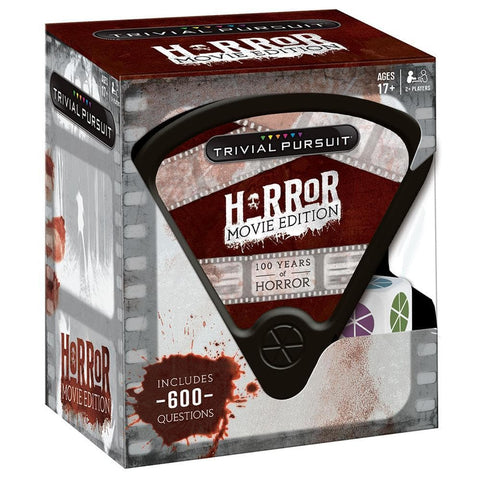 700304150868 Trivial Pursuit Horror Movie Edition USAopoly - Calendar Club1