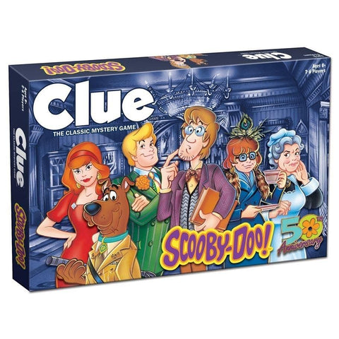 700304151858 Clue Scooby Doo game front image