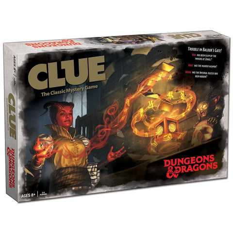 Dungeons and Dragons Clue Product Image