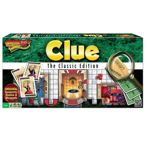 Clue Classic Edition - Calendar Club of Canada - 1