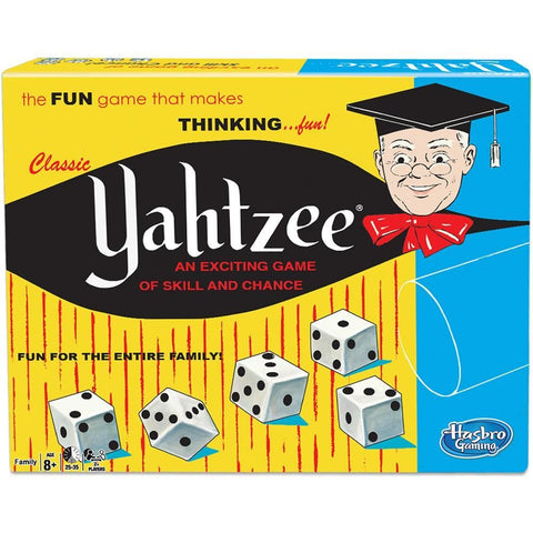 Yahtzee Classic Version Dice Game