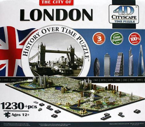 4D Cityscape London Puzzle - Calendar Club of Canada - 1