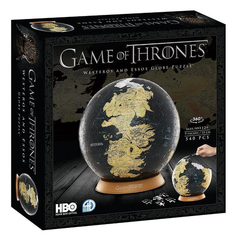 Westeros and Essos Globe 6in