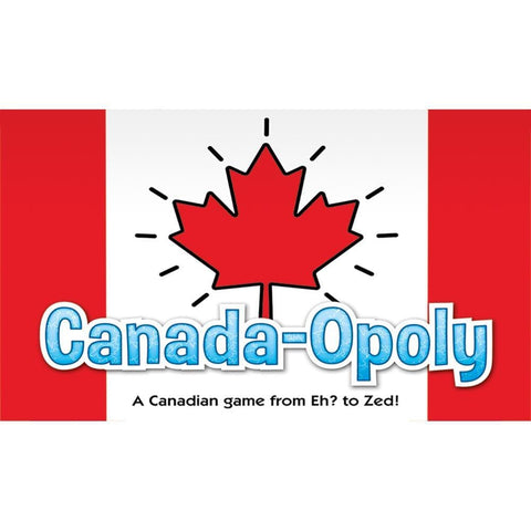 Canada Opoly Family Board Game Packaging Calendar Club