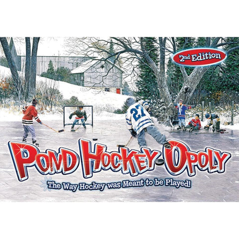 Pond Hockey Opoly 2nd Edition