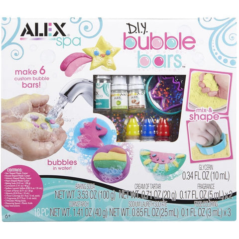 731346003454 Bubble Bars Alex Brands - Calendar Club1