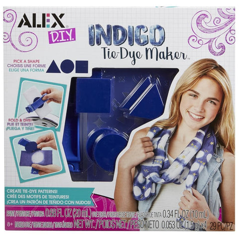 Indigo Tie Dye Maker Front Product Image