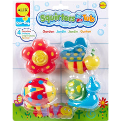 Garden Squirters Bath Toy Product Packaging Image