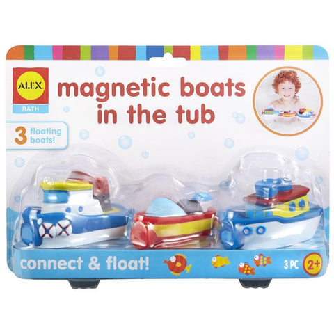 Magnetic Boats in the Tub Front Product Image