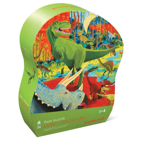 Land of Dinosaurs Children's Puzzle 36 Piece