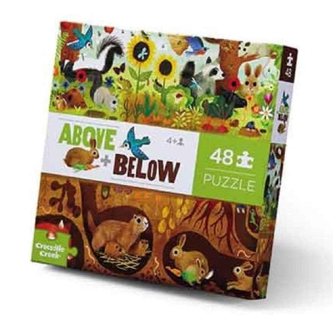 Backyard Discovery Above and Below Childrens Puzzle 48 Piece