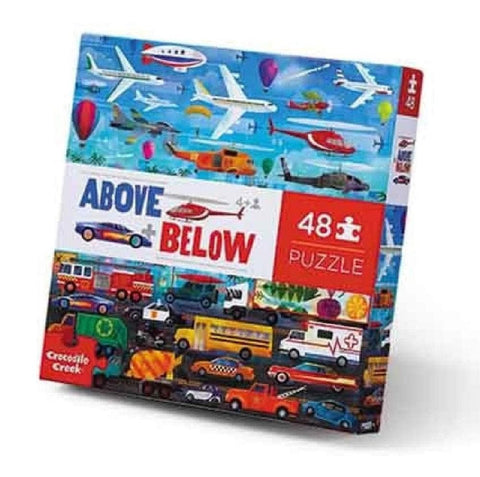 Things That Go Above and Below Childrens Puzzle 48 Piece
