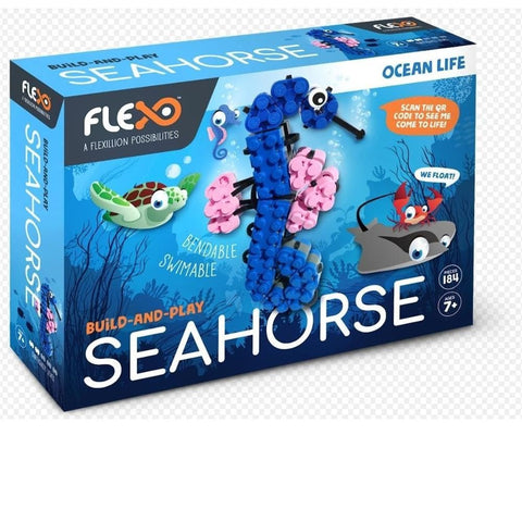 Build and Play Seahorse Ocean Life Product Packaging Image