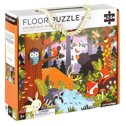 Enchanted Woodland Childrens Floor Puzzle 24 Piece