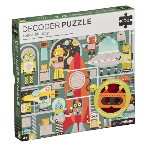 Robot Factory Decoder Puzzle 100 Piece
