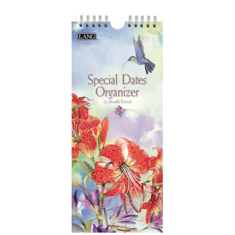 Natures Grace 2020 Non Dated Slim Calendar Front Cover
