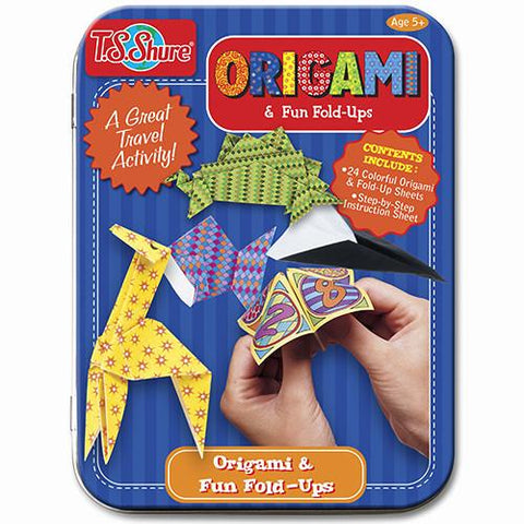 Origami Miniature Creative Tin - Calendar Club of Canada - 1