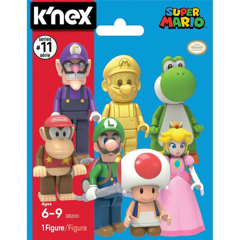 744476382009 Super Mario Figures S11 prepack unit Knex - Calendar Club1