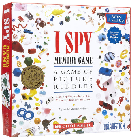 I Spy Memory - Calendar Club of Canada