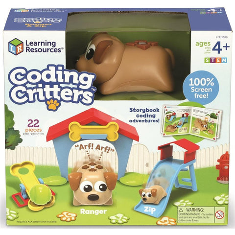 Coding Critters Ranger and Zip