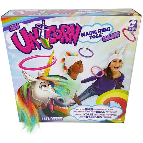 Unicorn Magic Ring Toss Game