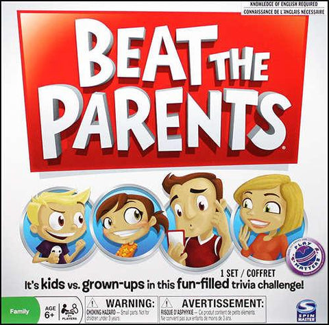 Beat the Parents - Calendar Club of Canada - 1