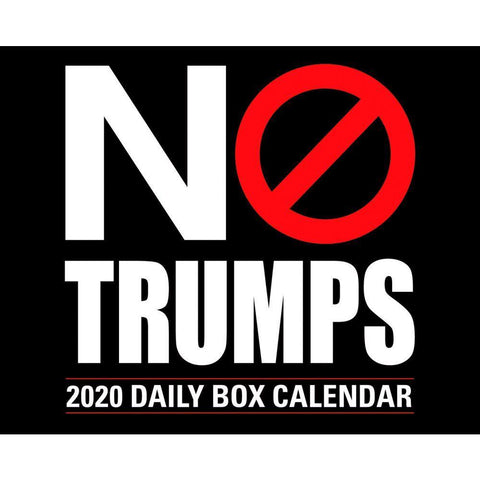 No Trumps 2020 Box Calendar - Online Exclusive