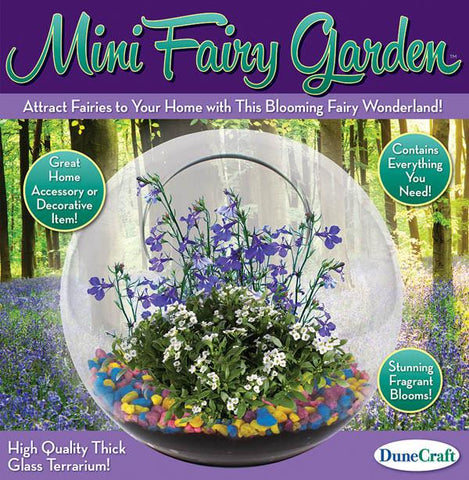 Fairy Garden Terrarium - Calendar Club of Canada - 1