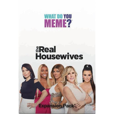 810816030043 What Do You Meme: The Real Housewives Expansion What Do You Meme - Calendar Club1